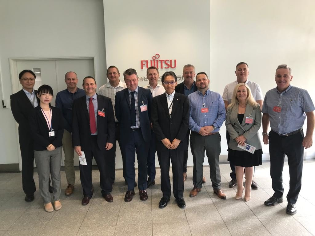 visit to Fujitsu in Japan