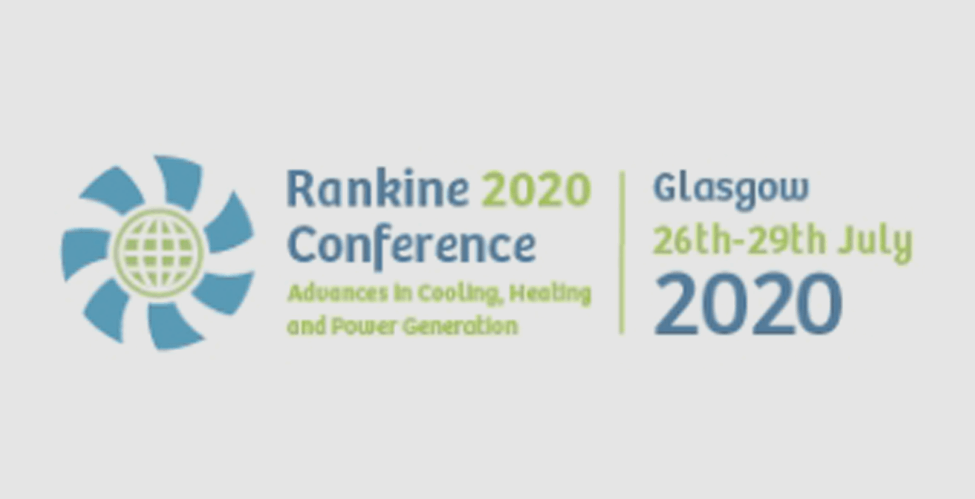 CCPHVAC - Rankine Conference 2020